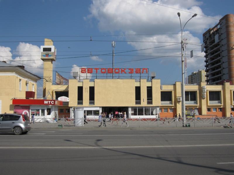 Автобусный вокзал Екатеринбурга