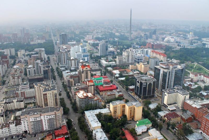 Метеогорка, Екатеринбург