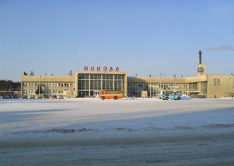Железнодорожный вокзал Шадринска