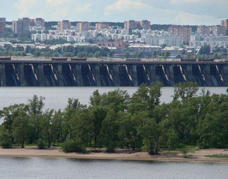Жигулёвская ГЭС, Тольятти