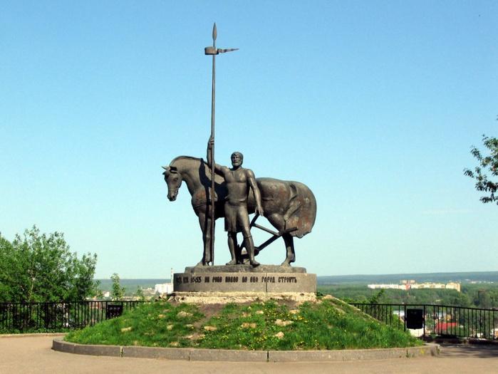 Памятник «Первопоселенец», Пенза