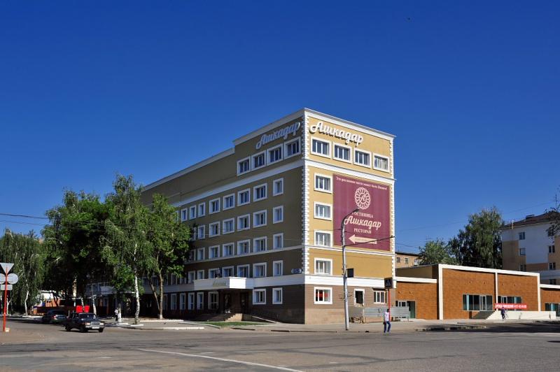Гостиница «Ашкадар», Стерлитамак