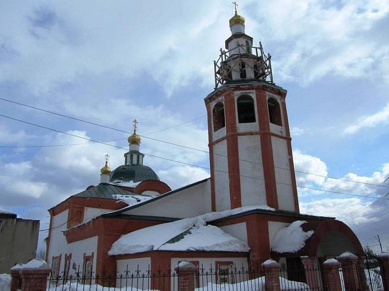 Церковь Усекновения головы Иоанна Предтечи, Березники