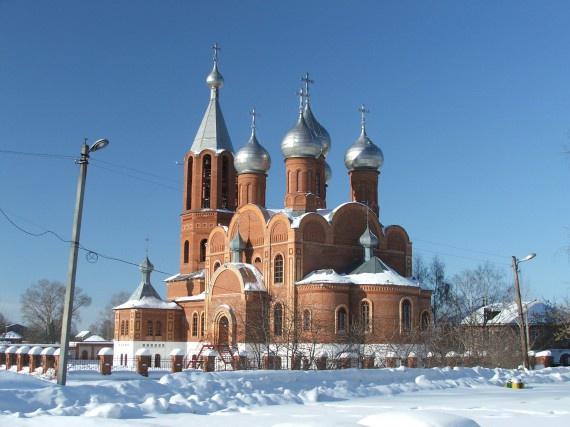 Церковь на Вятской набережной, Кирово-Чепецк