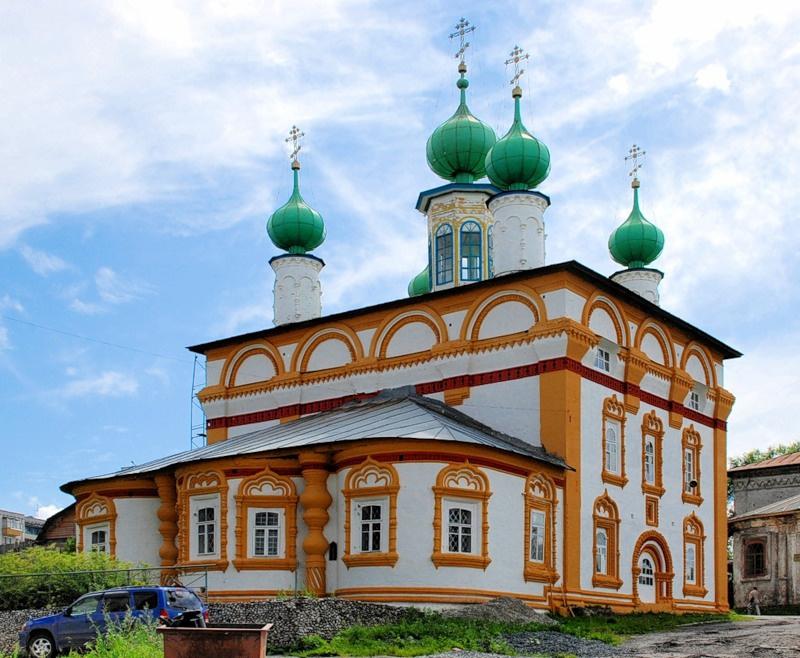 Ансамбль Спасской и Архангельской церквей, Соликамск
