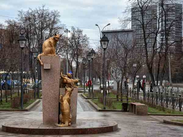 Парк Сибирских кошек, Тюмень